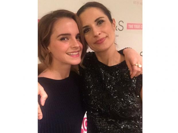 Emma Watson and Livia Firth