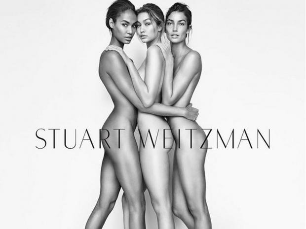 Gigi Hadid for Stuart Weitzman.