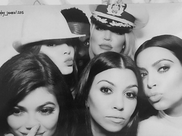 Kardashian photo booth