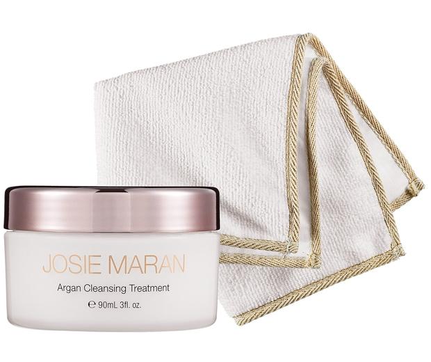 Josie Maran Argan Oil Cleansing Treatment with Cloth, £32