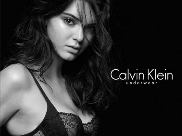 Kendall Jenner for Calvin Klein.