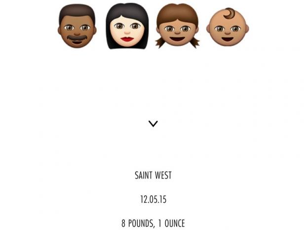 Kim Kardashian's baby announcement