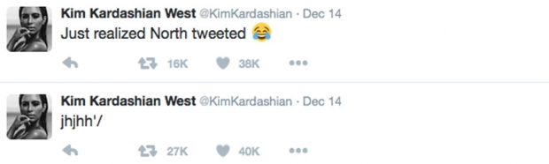 Kim Kardashian's Tweets