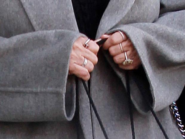 Kris Jenner's ring
