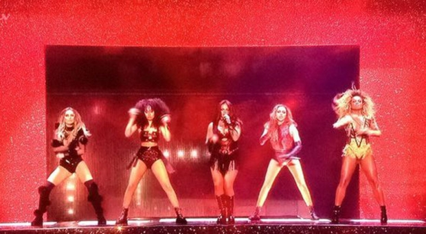 Little Mix and Fleur East
