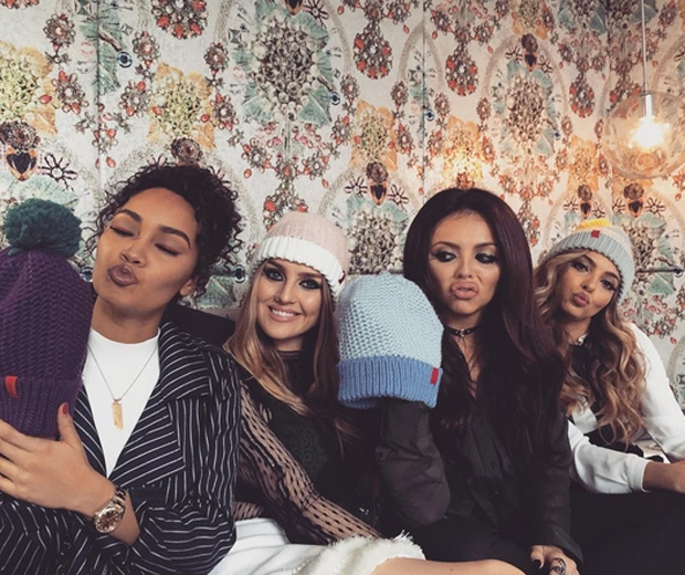 little mix wooly hats