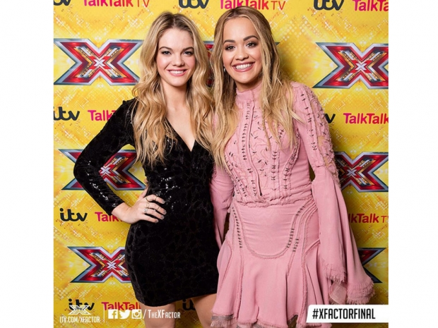 Rita Ora and Louisa Johnson