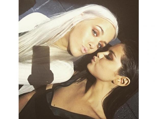 Selena Gomez and Lottie Tomlinson