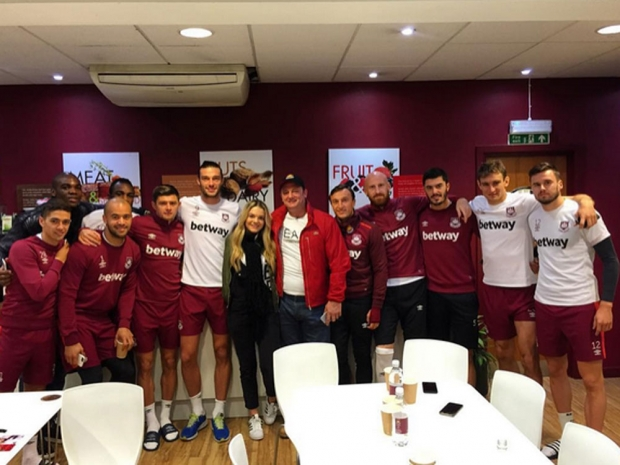 Louisa Johnson at West Ham