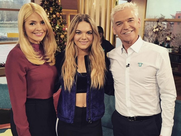 Louisa Johnson on This Morning
