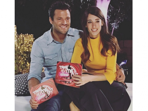 Mark Wright and Laura Jackson