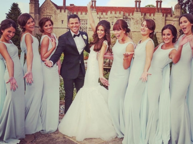 Mark Wright and Michelle Keegan's wedding