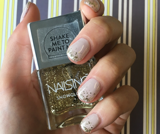 Nails Inc Snow Globe Nail Polish, £15