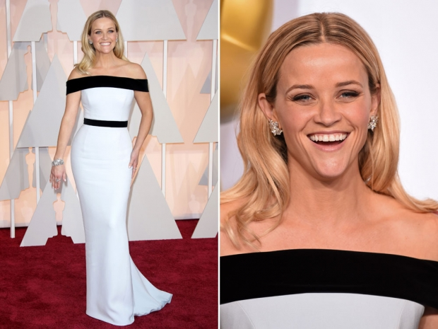 Reese Witherspoon at the 2015 Academy Awards.