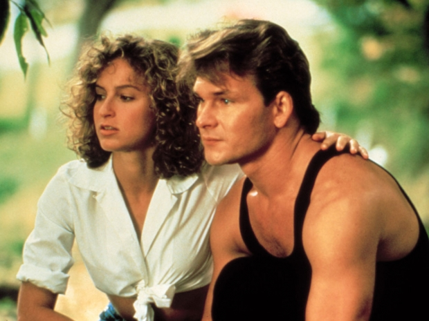 A still from Dirty Dancing.