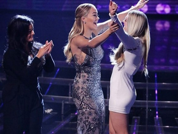 rita ora and louisa johnson on the x factor