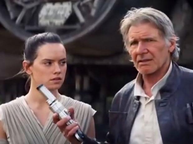 The new Star Wars film.