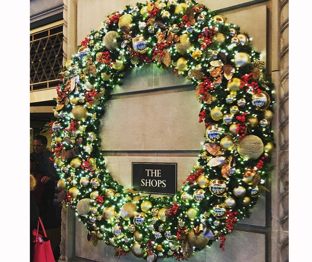 new york wreath