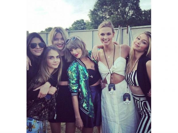 Taylor Swift's squad