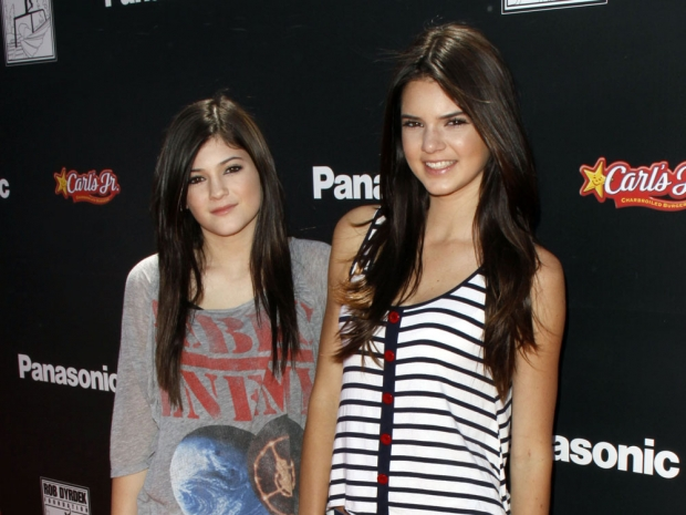 Kendall and Kylie Jenner 2010