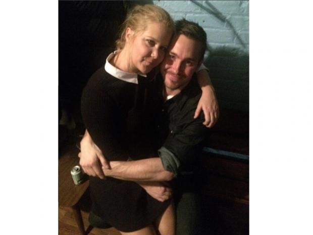 Amy Schumer with Ben Hanisch