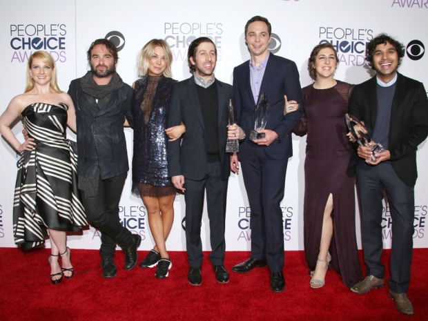 The Big Bang Theory cast at the People's Choice Awards