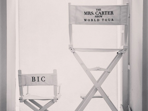 Blue Ivy tour chair