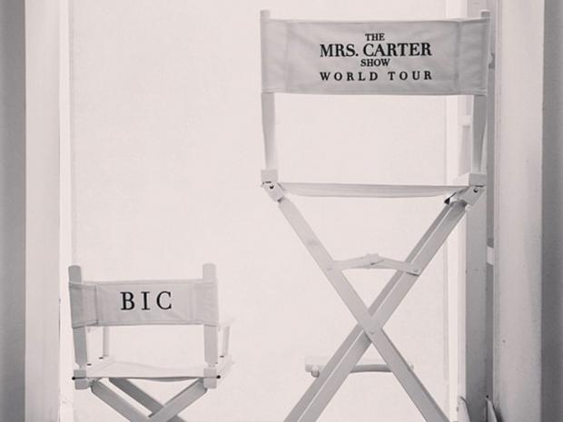 Blue Ivy tour chair