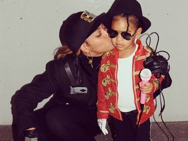 Bey and Blue Ivy