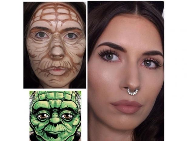 Star Wars contouring