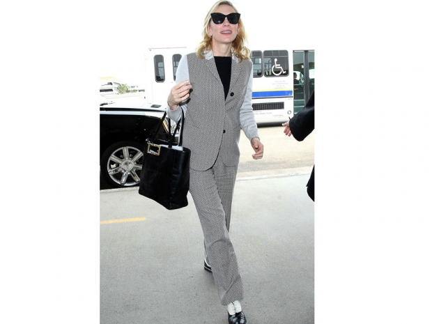 Cate Blanchett looking workwear-worthy.