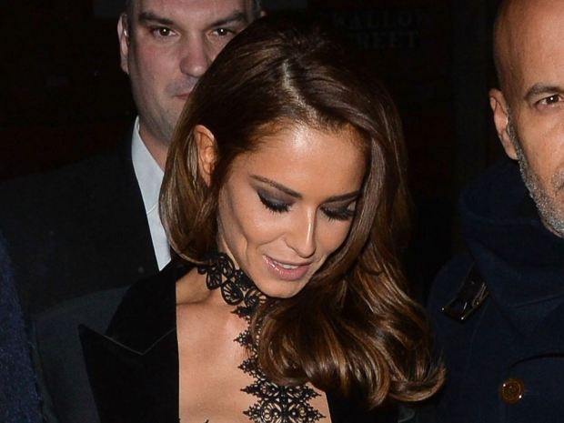 Cheryl Fernandez-Versini at Kimberley Walsh's hen do