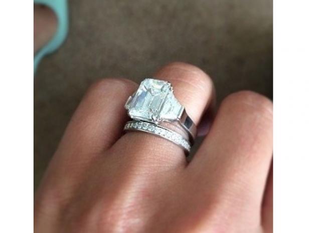 Cheryl Fernandez-Versini's ring