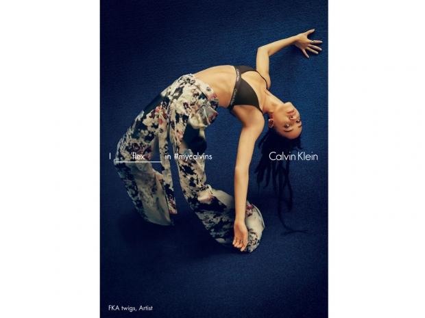 FKA Twigs Calvin Klein campaign