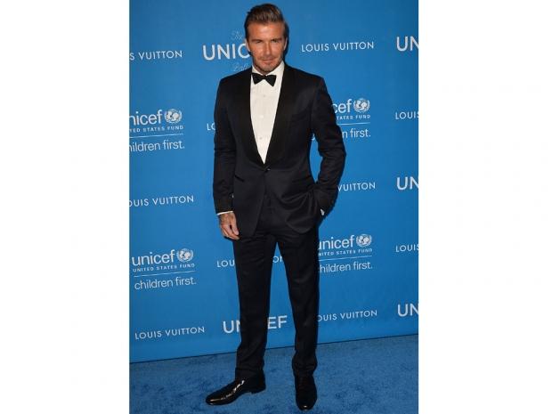 David Beckham at the UNICEF Ball