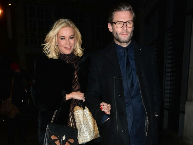 Denise Van Outen and Eddie Boxshall at Kimberley Walsh's hen do