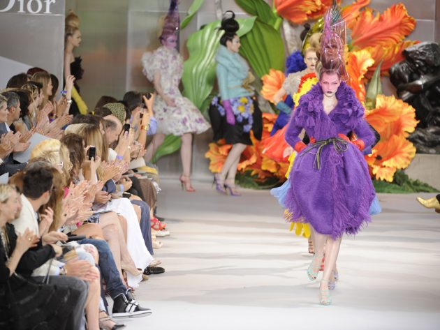 Christian Dior Haute Couture AW10, designed by John Galliano