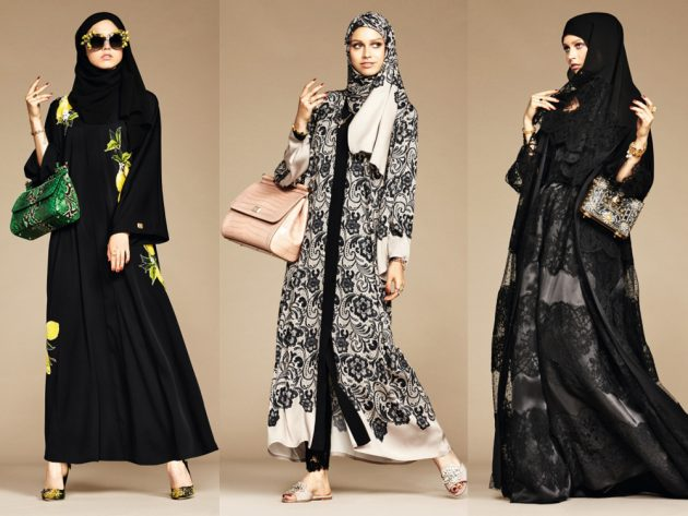Dolce and Gabbana has just launched its debut Abaya collection