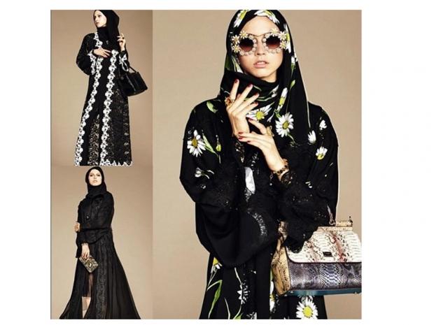 Dolce and Gabbana Abaya collection