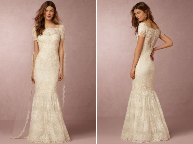 The Marchesa BHLDN Ephra dress.