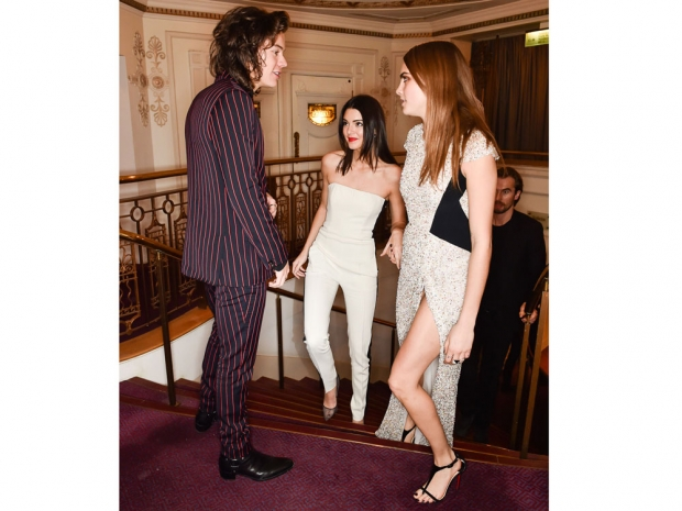 Harry Styles, Kendall Jenner and Cara Delevingne