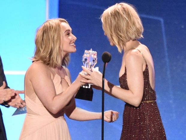 Hayden Panettiere and Rachel McAdams at the Critics' Choice Awards
