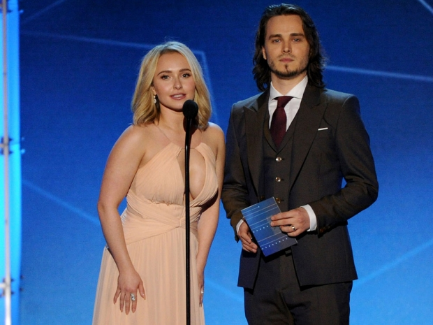 Hayden Panettiere and Jonathan Jackson at the Critics' Choice Awards