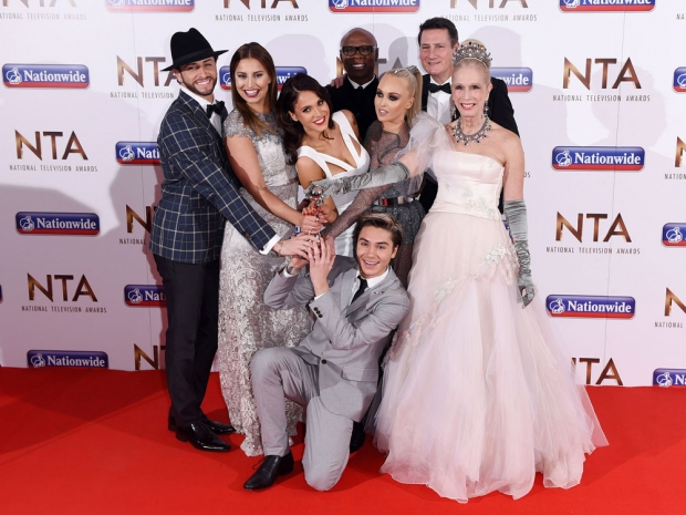 I'm A Celebrity cast at the National Television Awards