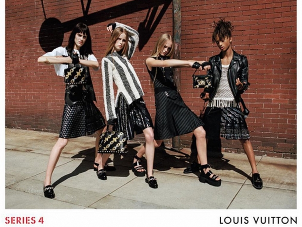 The Louis Vuitton spring/summer 2016 campaign.