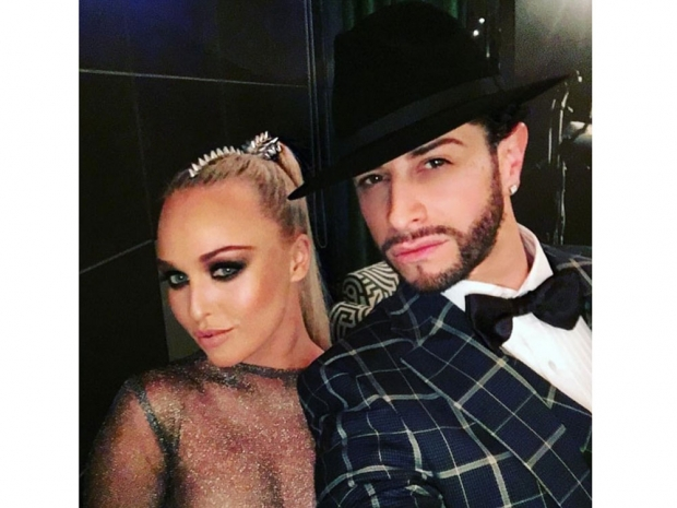 Jorgie Porter and Brian Friedman