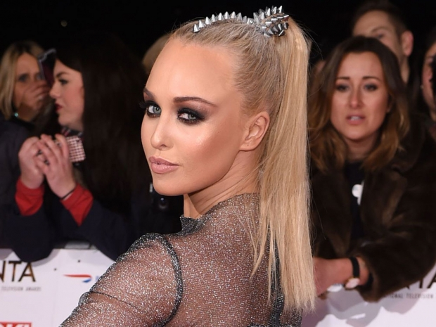 Jorgie Porter at the National Television Awards