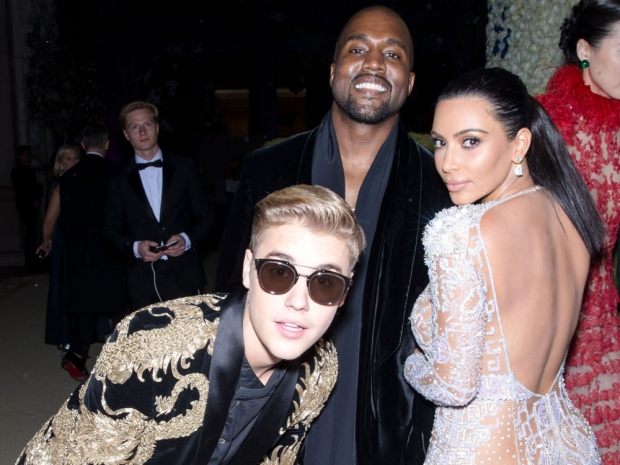 Justin Bieber and the Kardashians