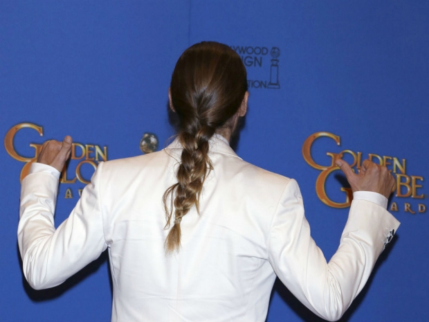 Man Braid: Jared Leto