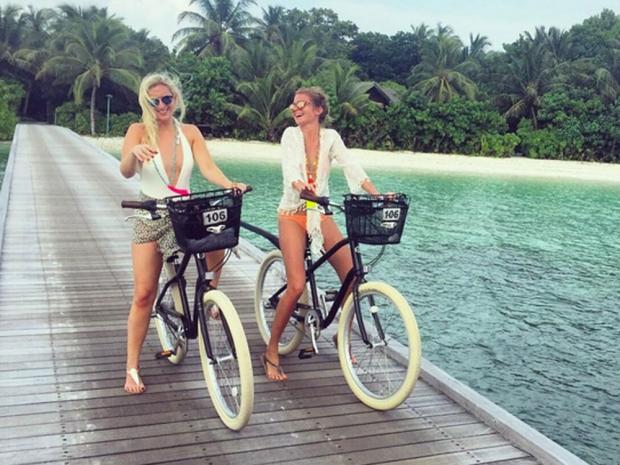 Millie Mackintosh in the Maldives